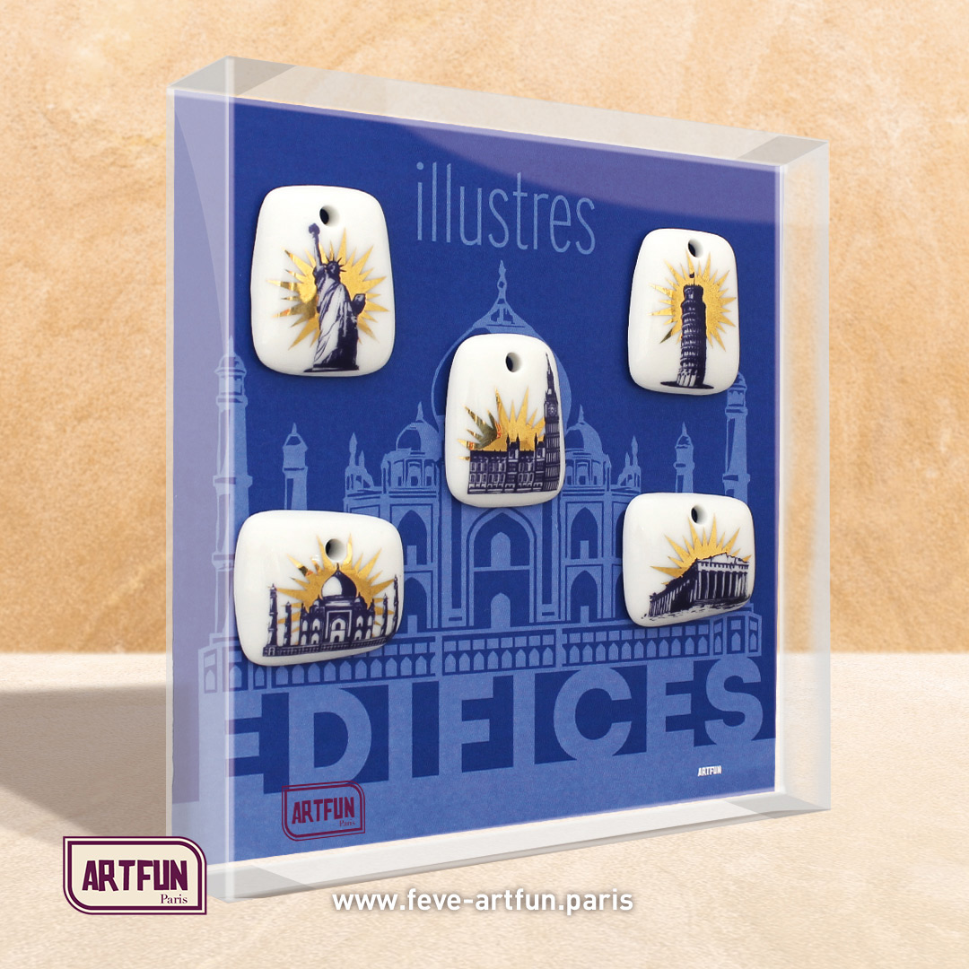 Illustres Edifices - Le Coffret de 5 Fèves