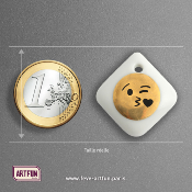 Licence - Fèves Emoticône Gold